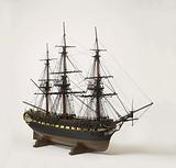 Model of the 32–gun frigate Euridice
