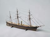 Model of the screw-propeller steamship Watergeus