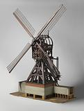Model of the outer mill of Vuren