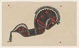 Ceremonial dance horse