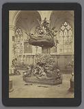 Pulpit in the Sint Andrieskerk in Antwerp