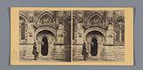 Entrance portal to Rosslyn Chapel