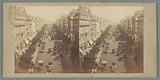 View of the Boulevard des Italiens in Paris
