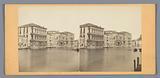 View of Ca 'Rezzonico, Palazzo Giustinian and Ca' Foscari in Venice