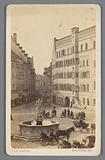 Justice Runs on Haidplatz in Regensburg, Germany
