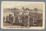 Remains of military barracks, Pompeii