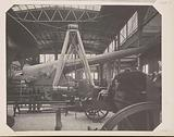 Cannon in the German Krupp pavilion at the Chicago World's Fair