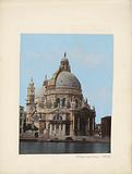 Exterior of the Santa Maria della Salute in Venice