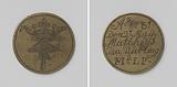 Mason, stonemason, slater, plumbing and pump makers guild of Amsterdam, guild medal of Mattheus Jan Uurling, master …