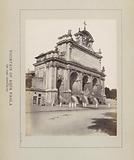 Fontana dell'Acqua Paola at the Janiculum in Rome