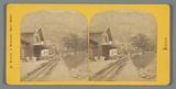 Station along the railway from Vitznau to the Rigi, Switzerland