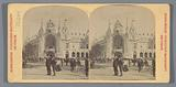 The corner of the Esplanade des Invalides and the Quai d'Orsay at the 1900 World's Fair in Paris
