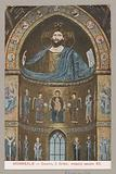 Mosaic of Christ in the Cathedral of Monreale in Sicily