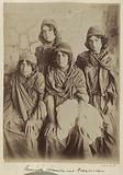 Portrait of four young Kurdish women