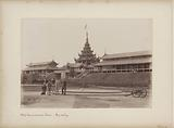 Soldiers and (presumably) British at the Chief Commissioners House in Mandalay