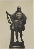 Statue of George of Podiebrad by Ferdinand von Miller on display at the Great Exhibition of the Works of Industry of …
