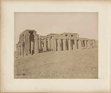 Exterior of the Ramesseum in Thebes (Luxor)