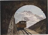 Jungfrau Railway met de Jungfrau