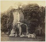 Raglan Castle; Grand Staircase.