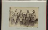 Group portrait of Maroons and probably Caribbean, Suriname