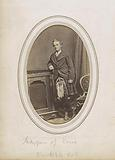 Portrait of John Campbell Marquis of Lorne, in kilt