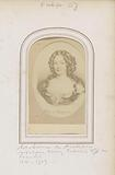 Photo reproduction of (presumably) a painted portrait of Madame de Montespan, mistress of King Louis XIV of France