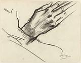 Study of a hand and a forearm