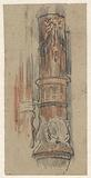 Ornamented column