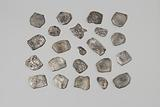 Silver Hispanic-American pieces of eight reals from the wreck of the Dutch East Indiaman 't Vliegend Hart