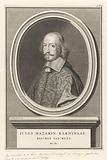 Portrait of Cardinal Jules Mazarin, Bishop of Metz