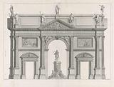 The Triumphal Arch for George I of Great Britain