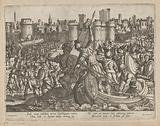 Scipio Africanus and his army attack Carthage Nova