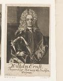 Portrait of Wilhelm Ernst von Sachsen-Weimar