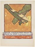 Design for advertising the `Fokker-Eendekker '