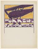 Design for advertisement for `Fokker's Aircraft '