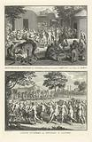 Funeral rites of Canadian Indians