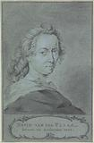Portrait of David van der Plaes