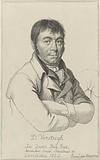 Portrait of the artist Dirk Versteegh