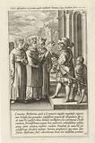 Saint Norbert claims the property of the Church