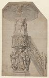 Design drawing for a pulpit