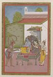 Rama and Sita Enthroned