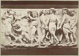 High relief from the choir of the Duomo in Florence, with young singers and dancers, by Luca della Robbia