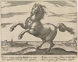 Landscape with horse from the Iberian Peninsula