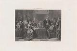 William of Orange in the Council by Governor Margaret of Parma