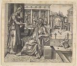 Sarah asks Abraham to send Hagar and Ishmael away