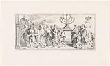 Triumphal procession with the seven-armed candlestick
