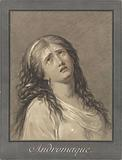 Andromache crying