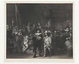 The corporationship of Captain Frans Banninck Cocq and Lieutenant Willem van Ruytenburch, known as the 'Night Watch'