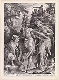 Minerva and Mercury arm Perseus