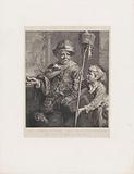 The Pied Piper with his servant